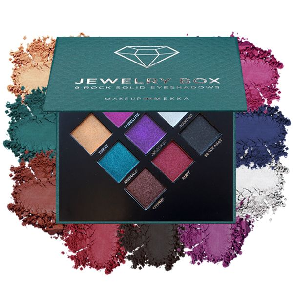 Jewelry Box - 9 rock solid eyeshadows