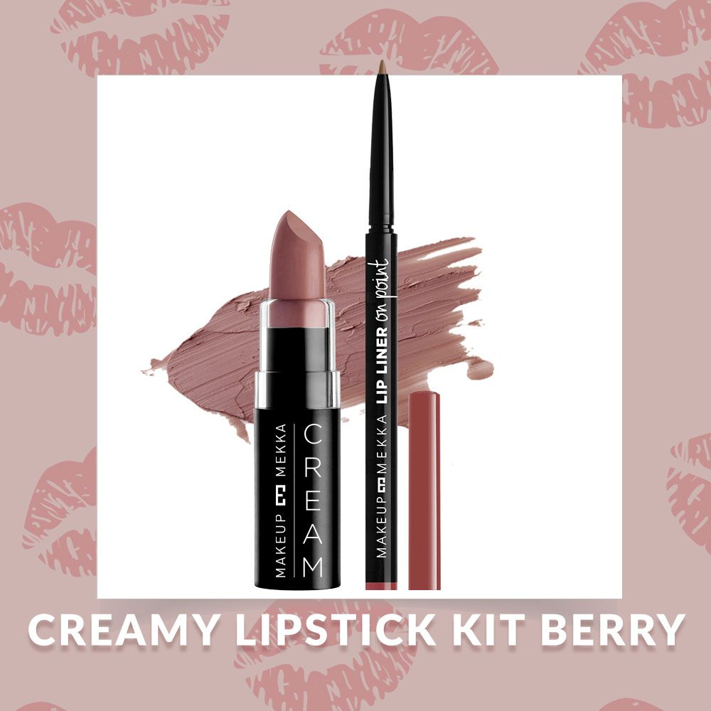 Creamy Lipstick Kit Berry