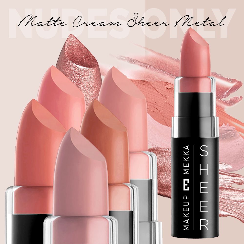 The Nude Lipstick Kit Nudes Only 7 pcs