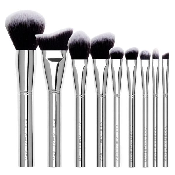 Silver Brush Set